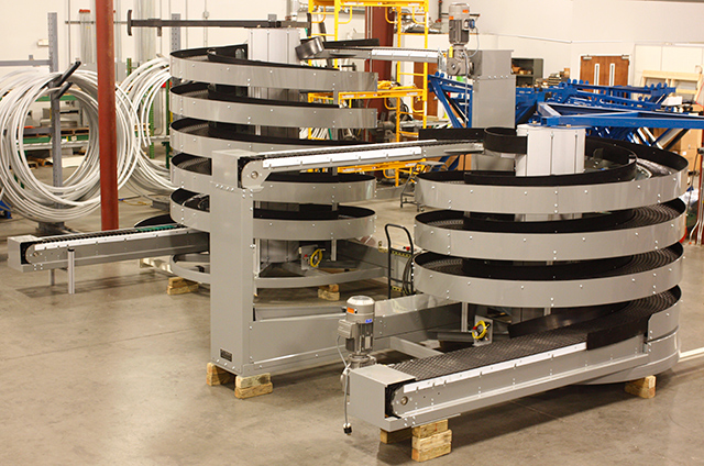 Ryson Manufactured Mass Flow Spirals