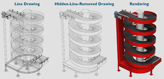 Ryson can now provide 3D AutoCAD drawings