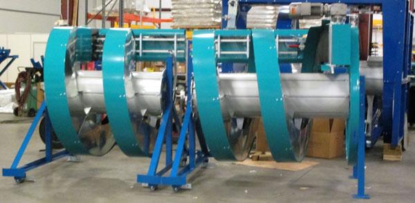 Custom Configurations Ryson Spiral Conveyor
