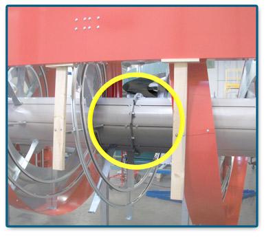 Custom Solution:Ryson two-piece spiral conveyor