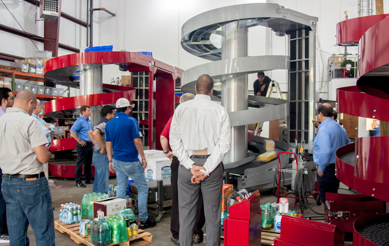 Customer Product Testing at Ryson Manufacturing Plant