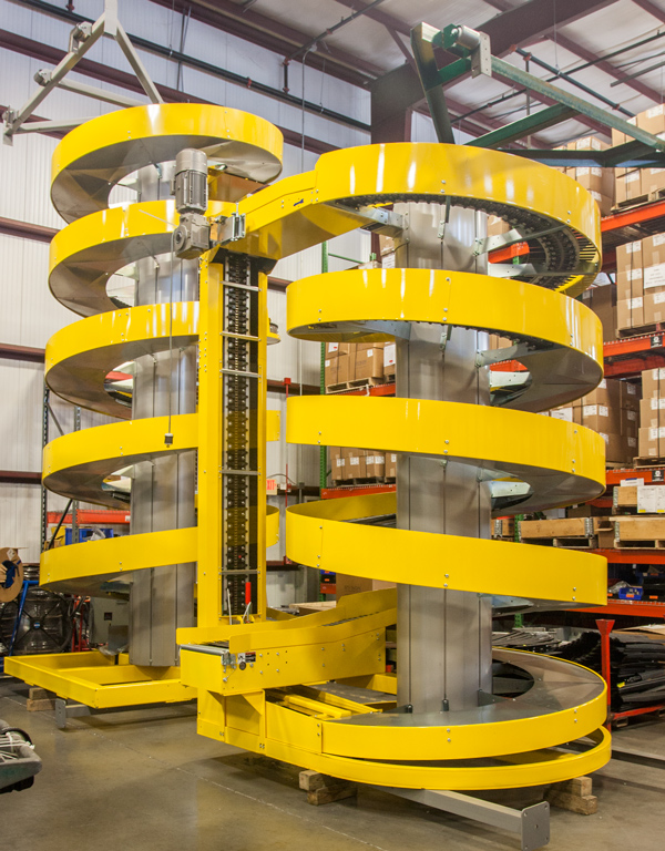 Spirals Built for Seismic Requirements