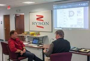 Ryson Supports Customer Visits