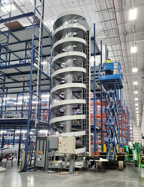 Installation in Mexico of a Tall Ryson High Capacity Spiral