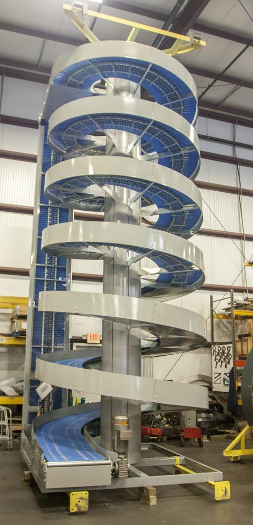 Ryson Spiral for a Freezer Environment