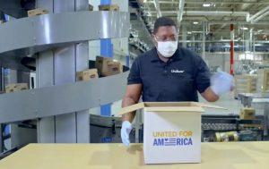 "Unilever ""United for America"" television spot"