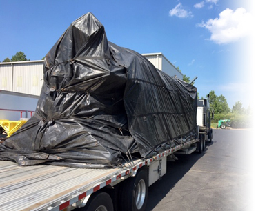 Shipping Larger Spirals on a Flatbed