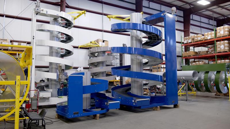 Ryson Spiral Vertical Conveyor
