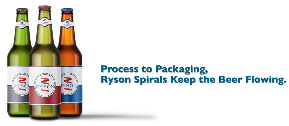 Ryson Spirals Deliver Brewery Products