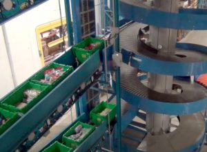 Batch Induction for a Ryson Multi-Level Spiral