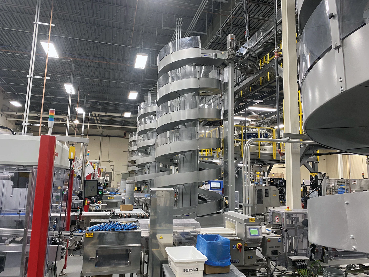 Ryson Spirals used for Packaging Efficiency